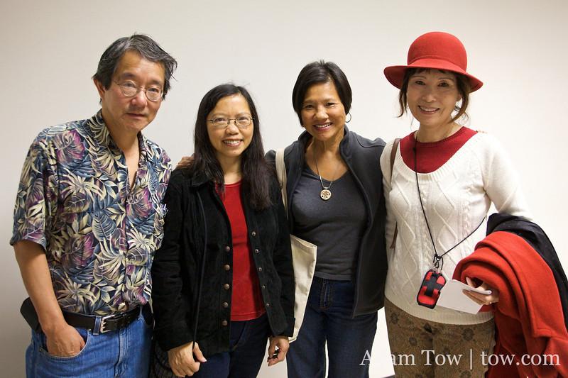 Bob, Nancy, Genny and Jeanette