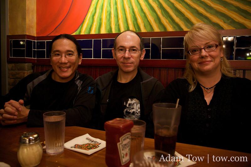 Adam, Ivan and Margaret.