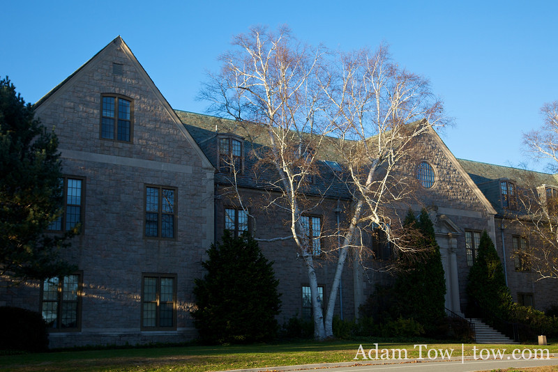 Blaustein Humanities Center, site of our Autumn Gem screening at Connecticut College.