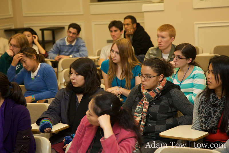 Students enjoyed our screening of Autumn Gem.