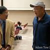 Karl speaks with Ken Lee.