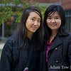 Rae with Professor Liu.