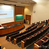 Louise Kelley Lecture Hall before the screening.