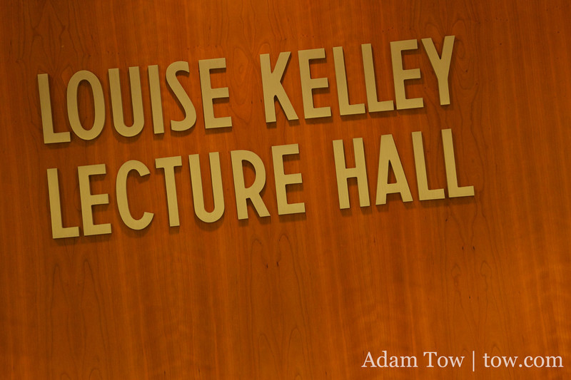 We screened the film at Louise Kelley Lecture Hall at Goucher College.