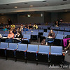 Students get ready for the screening of Autumn Gem at Kean University.