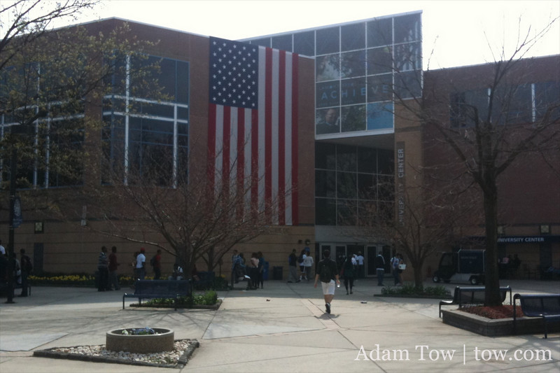 The University Centerc where we screened Autumn Gem.