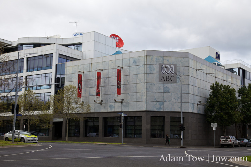 We were interviewed for the Life Matters radio program at the ABC studios in Melbourne, Australia.