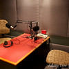 Inside the Tardis Room where we recorded our interview with Life Matters.