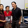 Adam and Rae with Professor Judy Patacsil of Miramar College.