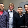 Spreckels mini-reunion: Gody, Jon, Roderic and Adam.