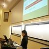 Rae begins her presentation.