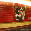 Montclair State University giant poster inside University Hall.