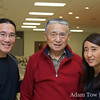 Adam and Rae with Tien-Fang Hou, who brought many people to the evening's screening.