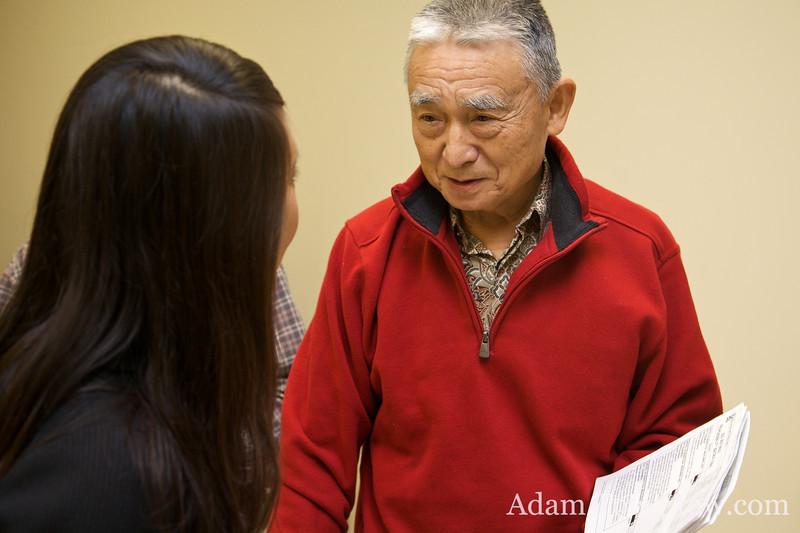Tien-Fang Hou speaks with Rae.
