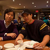 Joon-Mo and Sid at Joe's Shanghai.