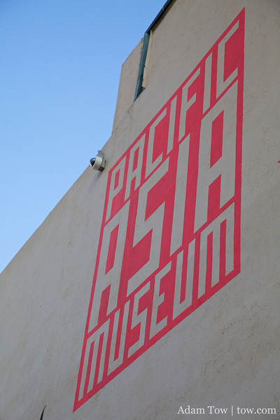 The Pacific Asia Museum.
