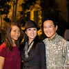 Adam and Rae with lead actress, Li Jing.