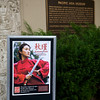 Autumn Gem Poster outside the Pacific Asia Museum.