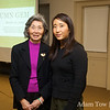Rae with Paula Chow, Director of the International Center at Princeton.