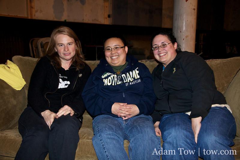 Jen, Sara and Stephanie.
