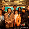 Following the screening, we went to dinner with one of my parents' friends from Hong Kong.