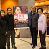 With the organizers of tonight's screening.