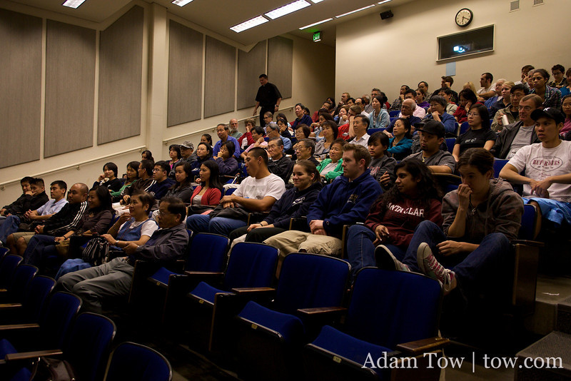 A large crowd saw Autumn Gem on September 30, 2009, at Santa Clara University.