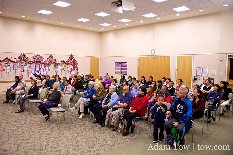 Had over 70 people at our Santa Clara Library screening of Autumn Gem.
