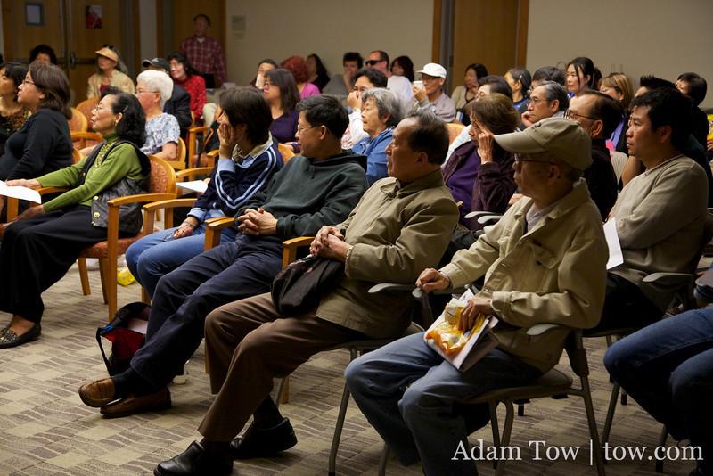 Audience shot.