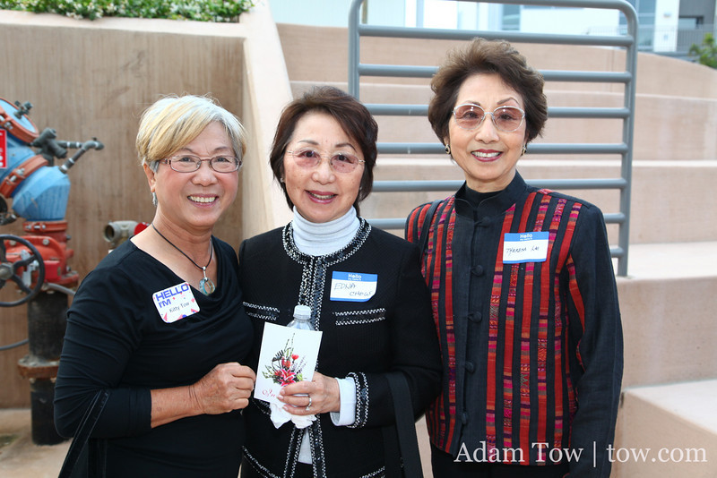 Kitty with Edna Chow and Theresa Le
