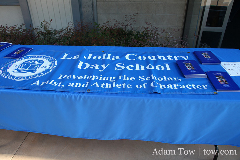 My high school, La Jolla Country Day School.