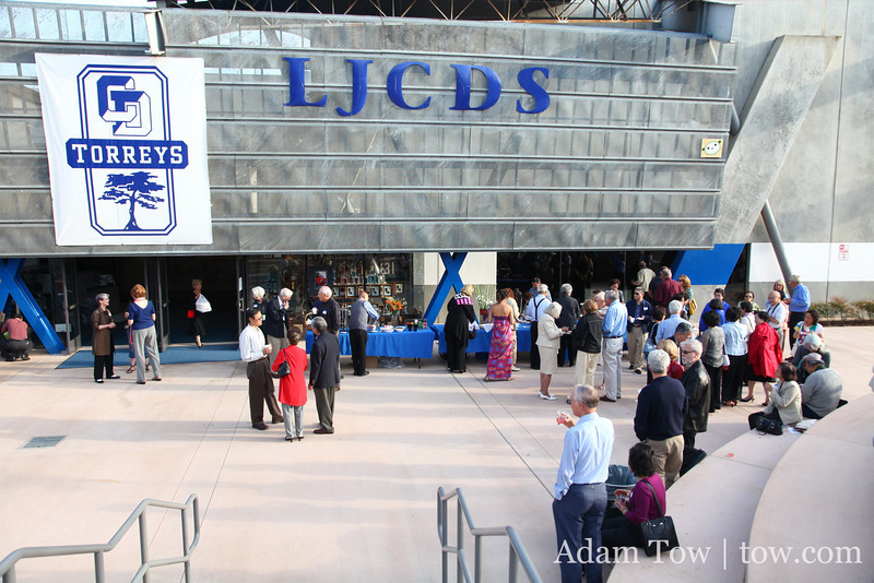 Outside the LJCDS gym