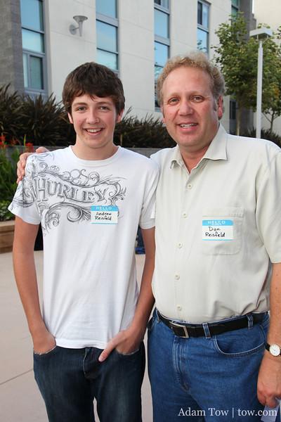 Dan and Andrew Reisfeld