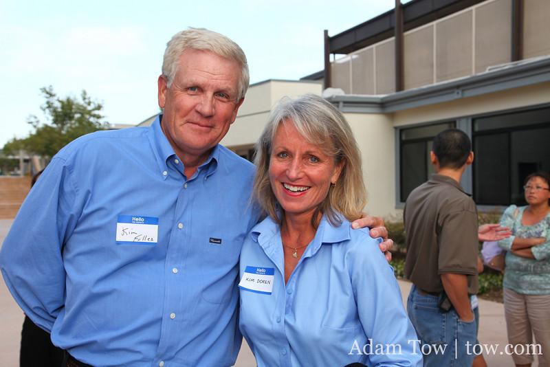 Kim Fuller and Kim Doren