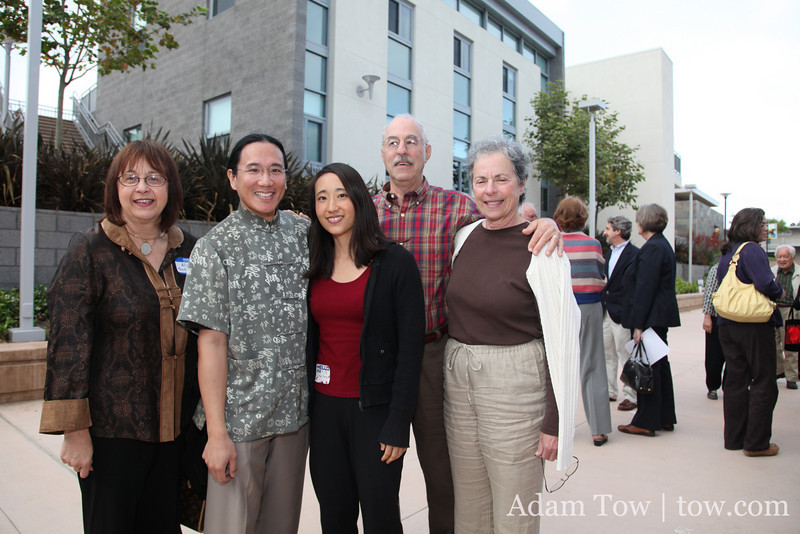 With my former teachers