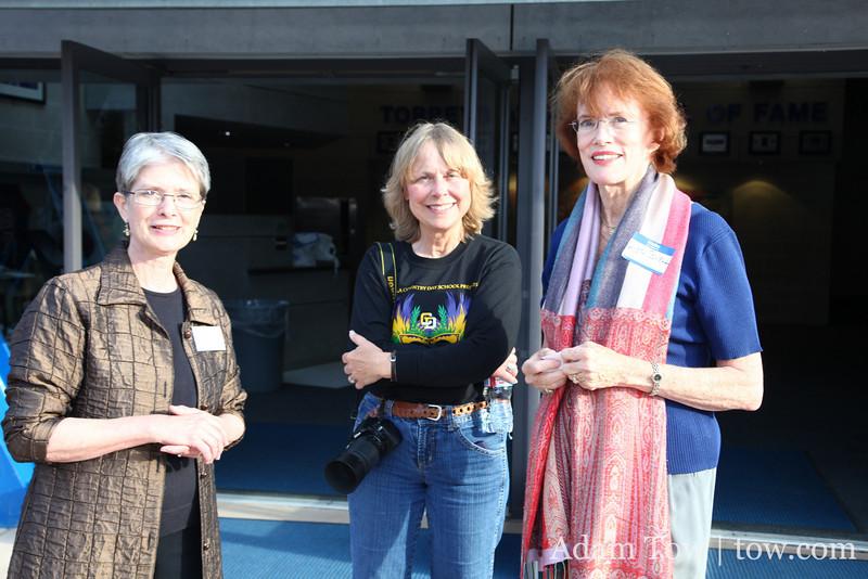 Marsha, Barbara, and Ruth