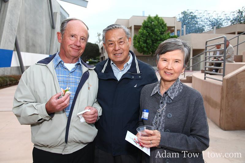 Dave Scheidnes, Roy Lee, and Shinja Scheidnes