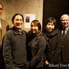 With the organizers of the SFU screening.