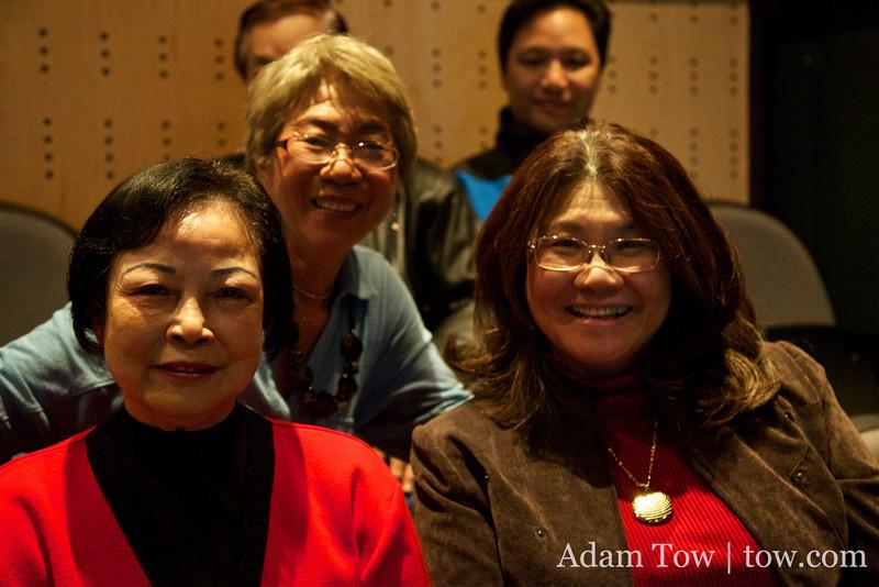Adam's Mom's friends from Hong Kong.