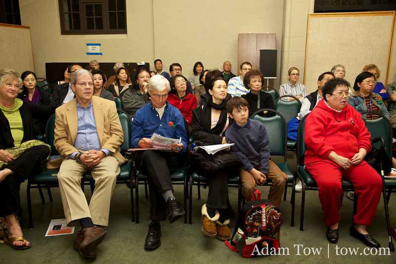 The large crowd at our South Pasadena screening.