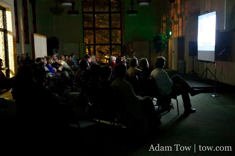 The Autumn Gem screening at the South Pasadena Public Library.