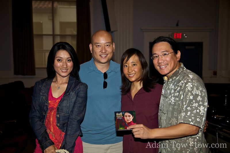 With Li Jing and Hans after our screening.