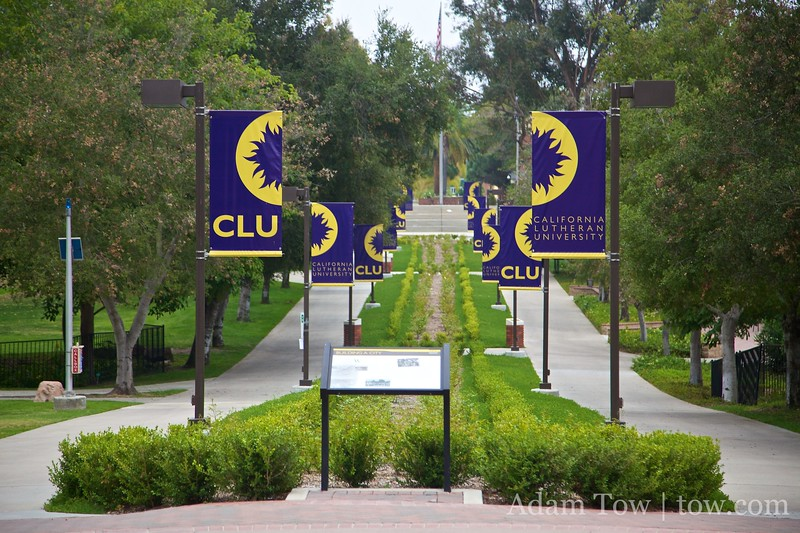 The screening was held at California Lutheran University in Thousand Oaks, CA.