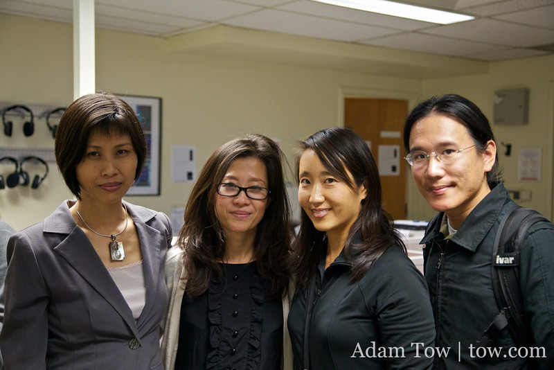 With SMU professors. Thanks for organizing!