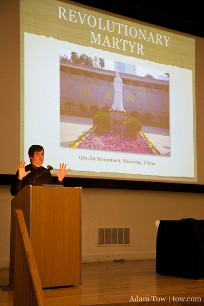 Professor Mullaney talks about the possibilities in Qiu Jin's life had she not been martyred.