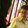 Professor Iona Man-Cheong talks with Rae before the screening.