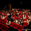 The crowd inside the theater to watch Autumn Gem.