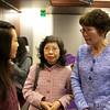 Meeting with Ann Lau, who helped to organize this screening.