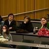 Students at the Autumn Gem screening at Trinity.