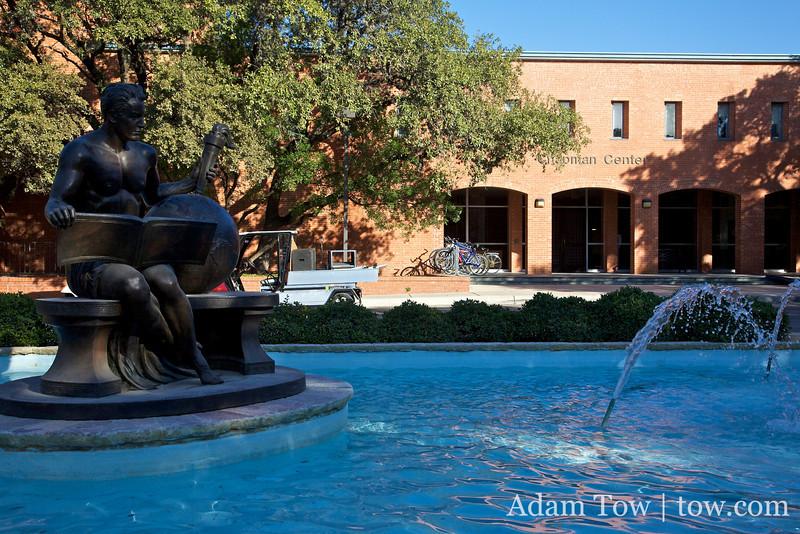 The Chapman Center at Trinity University.